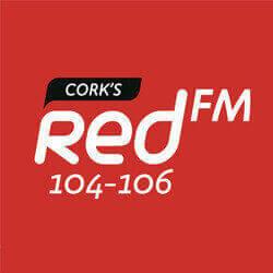 Cork's Red FM 104-106 logo