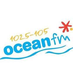 Ocean FM 102.5 - 105 logo